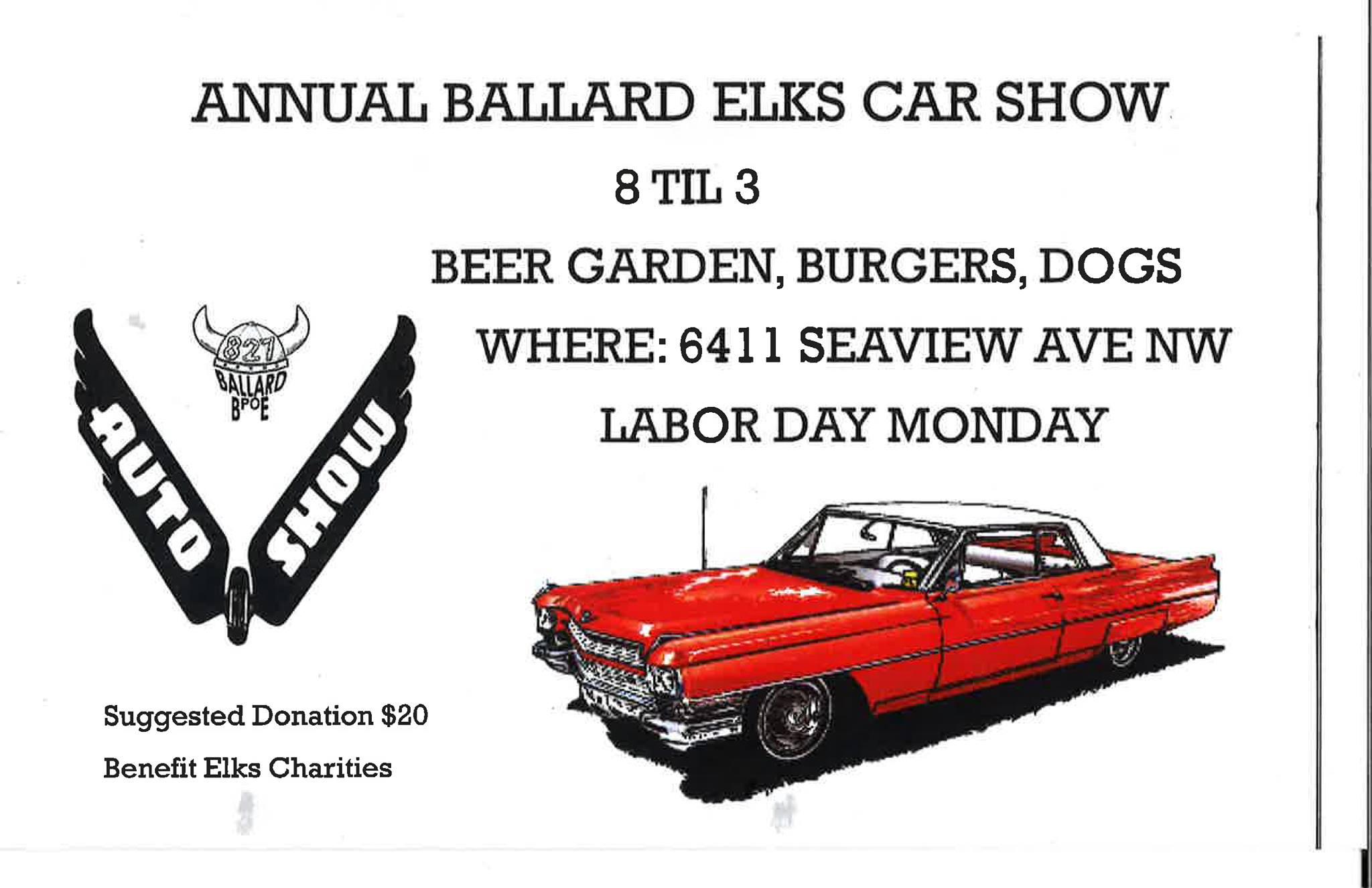 Ballard Elks Car Show