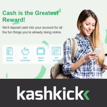 Kashkick : Earn Money by Taking Surveys and More