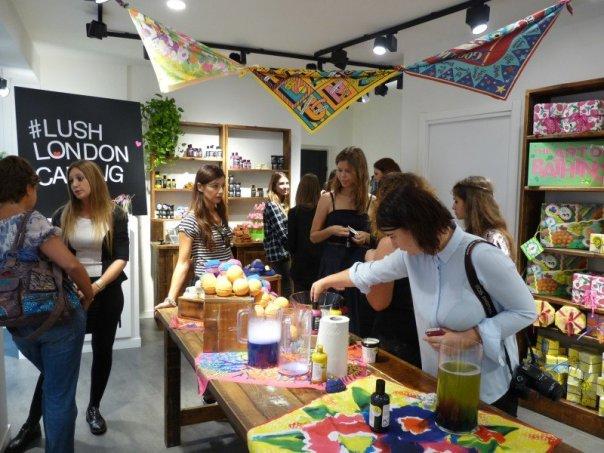 #Lush London Calling evento Milano 17-09-15 mybarr 02