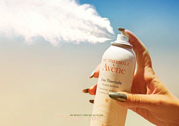 acqua termale spray Avène mybarr