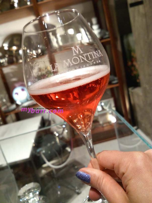 La Montina rosè demi sec tearose milano mybarr