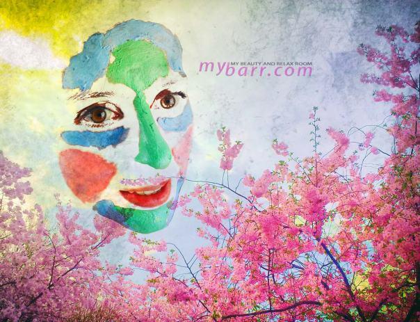 multimasking 360 mask belle azul maschere viso mybarr