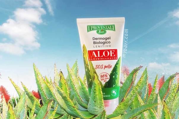 dermogel aloe I Provenzali biologico e lenitivo con il 98% di aloe - mybarr