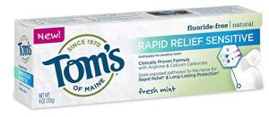Tom's of maine sensitive toothpaste