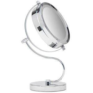Mirrorvana Bright & Curvy Double-Sided LED Lighted Makeup Mirror