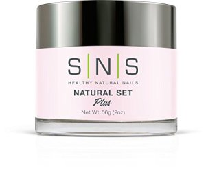 sns nails natural set plus