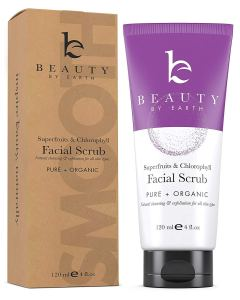 Beauty by Earth exfoliating facial scrub
