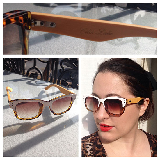 Colin Leslie sunglasses