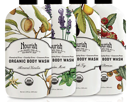 Nourish Body Wash Giveaway