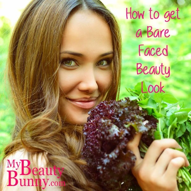 how to get a barefaced beauty look