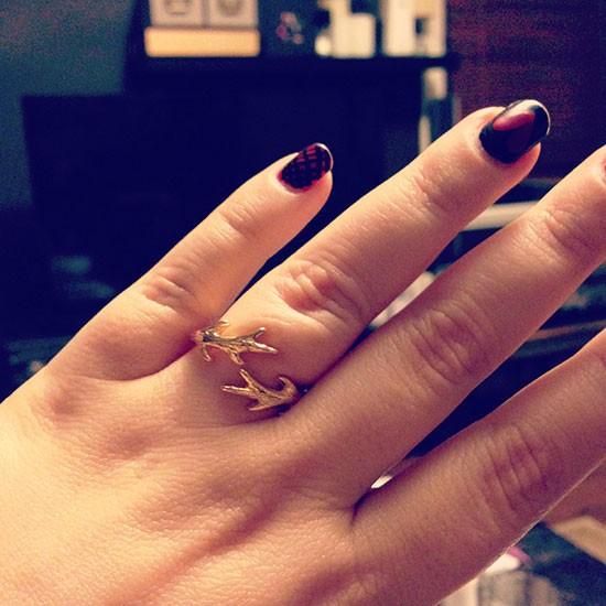 Gorjana & Griffen Buckley Ring