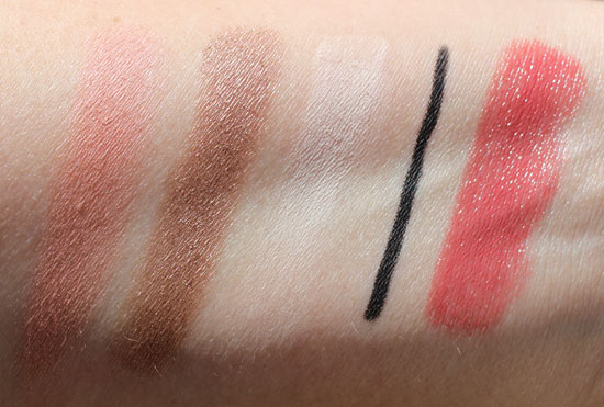 Too Faced Holiday Swatches