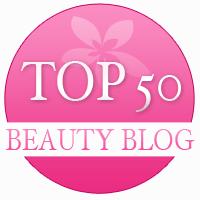 top 50 beauty blog