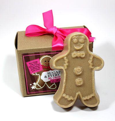 mr gingerbread man soap
