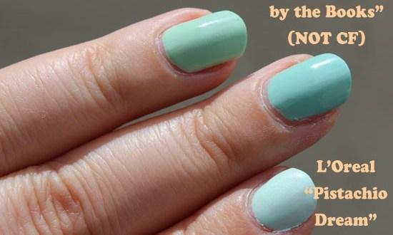 mint nail polish dupes