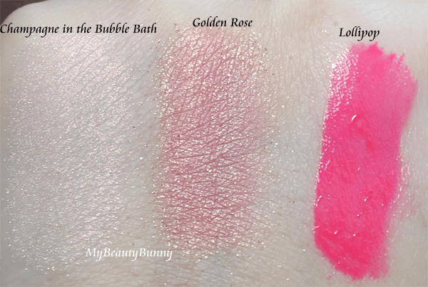 Swagger Cosmetics Blush Swatches