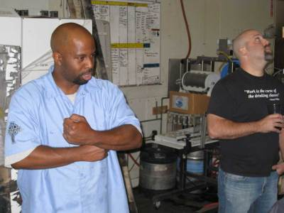 Damian Montgomery - Port Brewing Brewer in Training