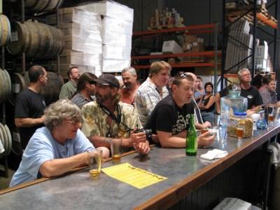 Maltose Falcons home brewers on a pub crawl