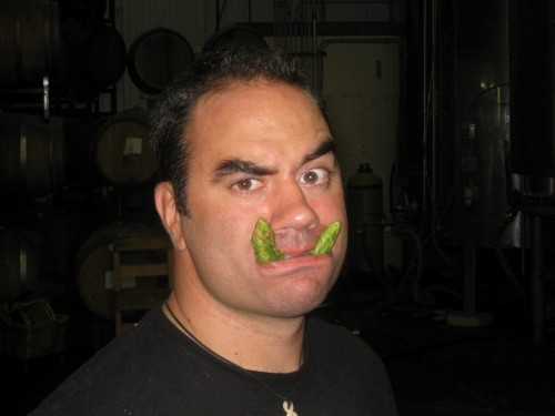 Brewer Mike Rodriguez' Hop Fangs