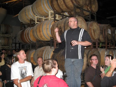 Tomme at the Lost Abbey Barrel Tasting Night