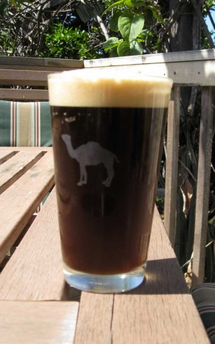 Hot Rocks Stein-style Brown Lager