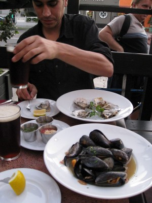Mussels and Oysters from the Ritual
