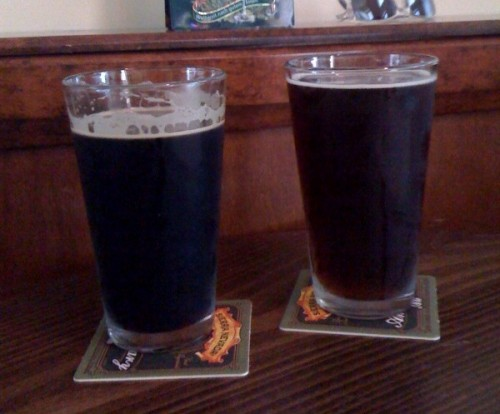 Alpine Captain Stout and New Belgium Fall Wild Ale