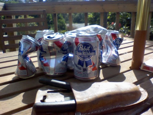 I love a cold PBR when I'm working in the yard or nursing a hangover.