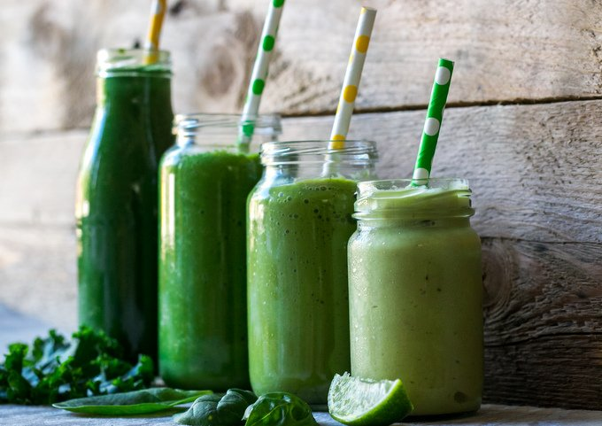 Healthy green smoothie guide 1