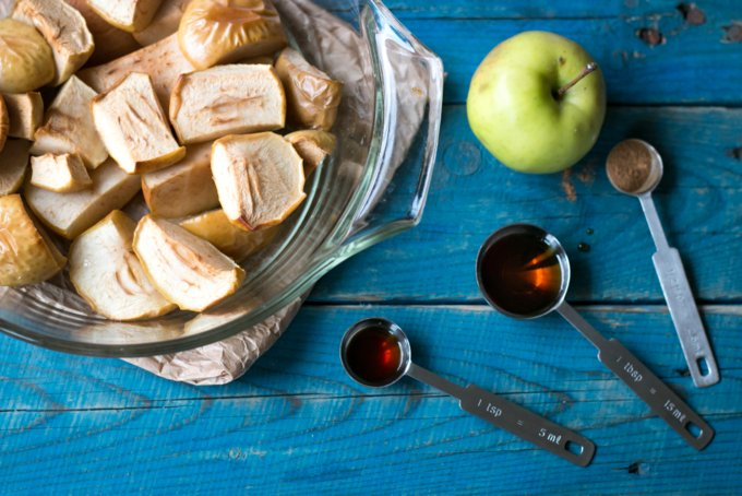 Perfect healthy apple sauce