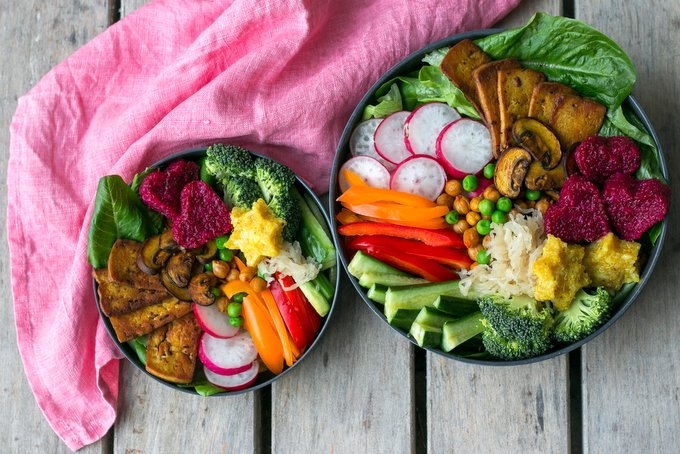 VEGAN BASICS PART 2: EAT THE RAINBOW EVERY DAY- THE ANATOMY OF A BUDDHA BOWL