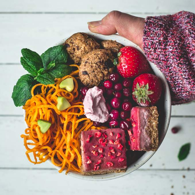Dessert Buddha bowl. Myberryforest.com