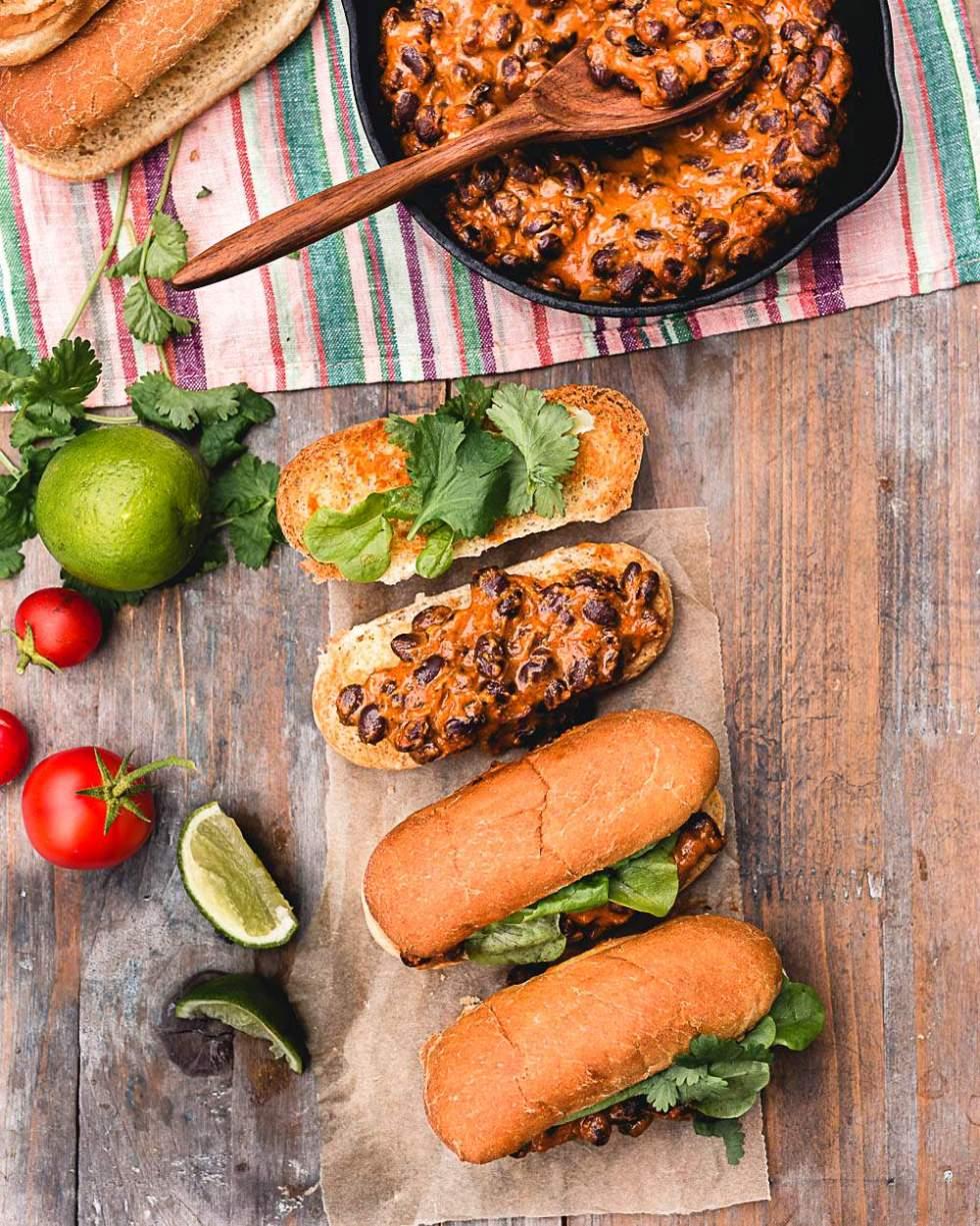 Vegaaninen taco hodari