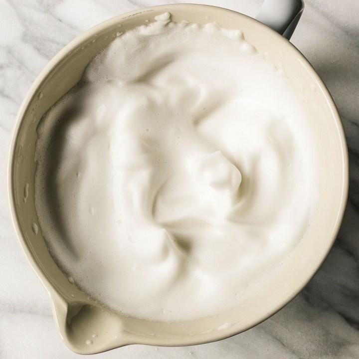Vegan Aquafaba Milk Chocolate Mousse
