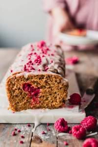Runeberg Cake (Finnish Vegan Almond Cake)