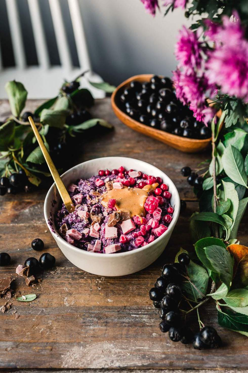 Luxury Berry Porridge
