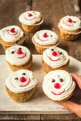 Nenäpäivän vegaaniset muffinssit