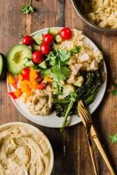 Vegan meal prep weekday meals x 5