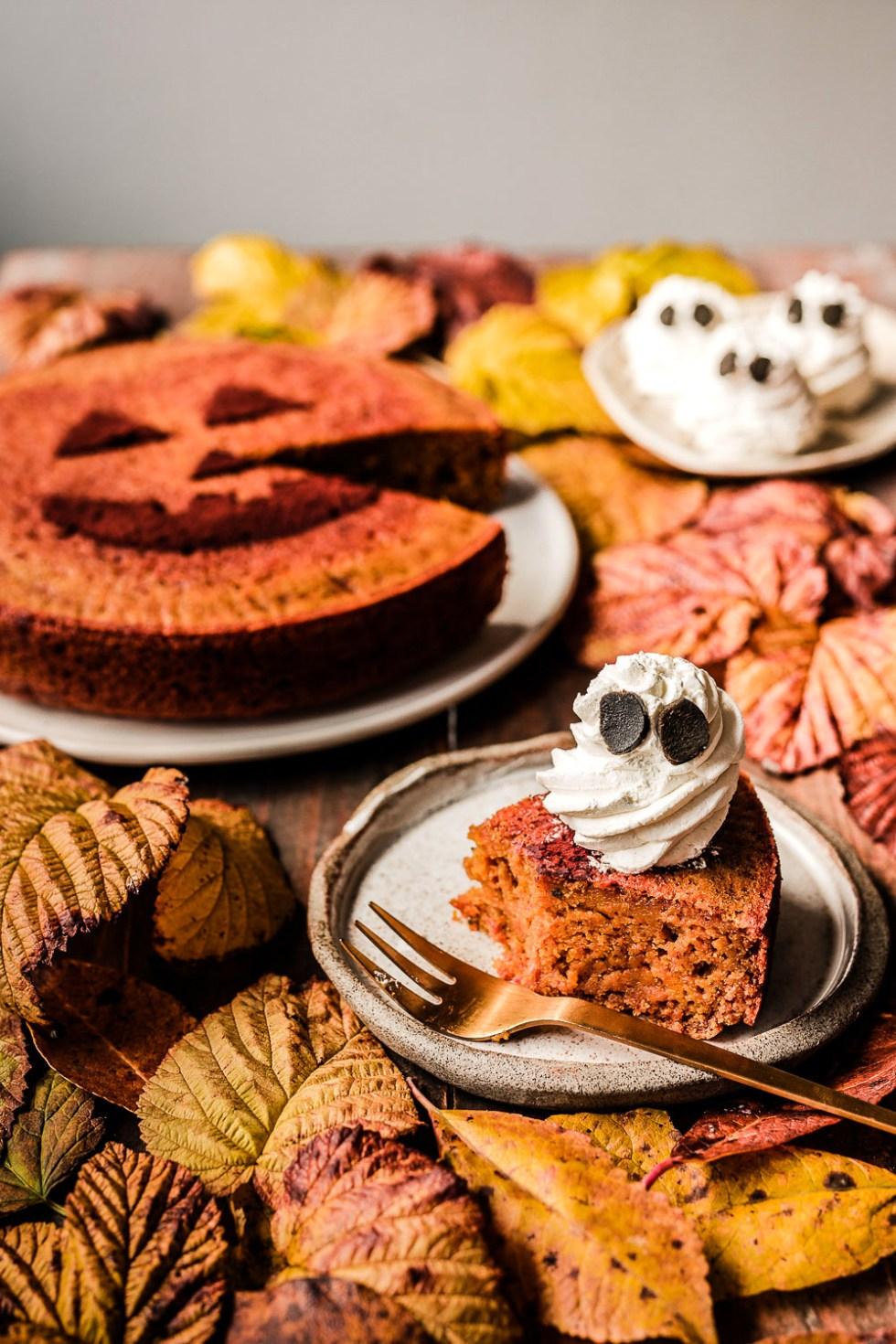 Hokkaido Pumpkin Cake