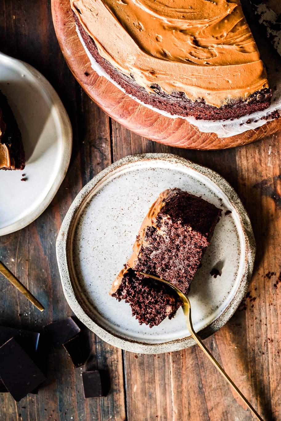 Biscoff levite kakku