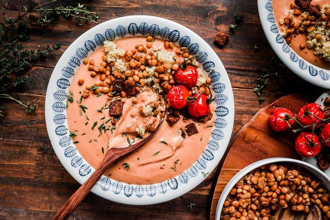 Creamy Blender Tomato Soup