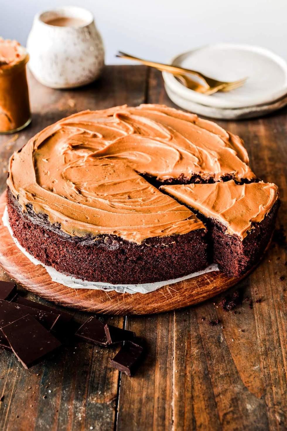 Vegan Biscoff Cake