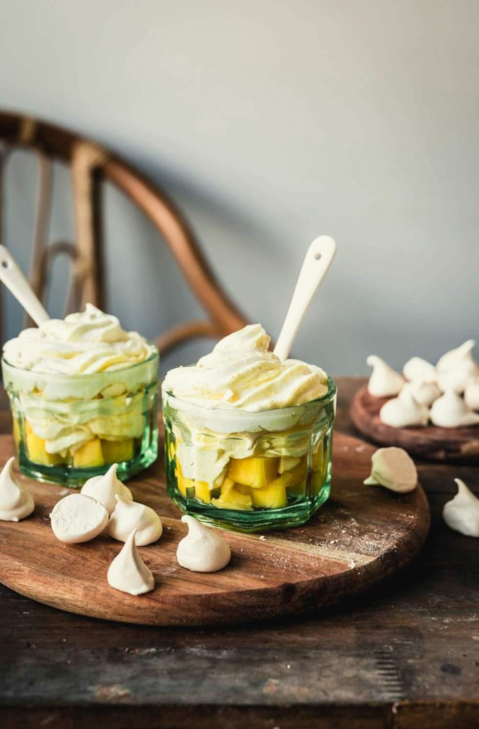 Mango Eton Mess Dessert