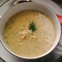 German Potato Horseradish Soup