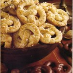 German Christmas Cookies: Vanilla Pretzel