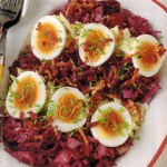 Red and White Cabbage Salad - German Salad Specialty