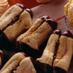 German Christmas Cookies: Mocha Sticks
