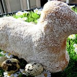 Easter Lamb Cake Sweetened with Honey