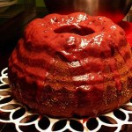 Dracula Bundt Cake - German Halloween Recipe