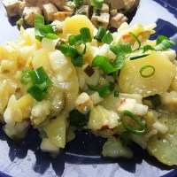 Berlin Potato Salad - Local Recipe from Berlin